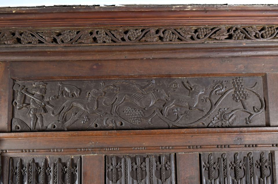 Join our History Curator on an audio tour exploring the significance of the Oak Room panels.