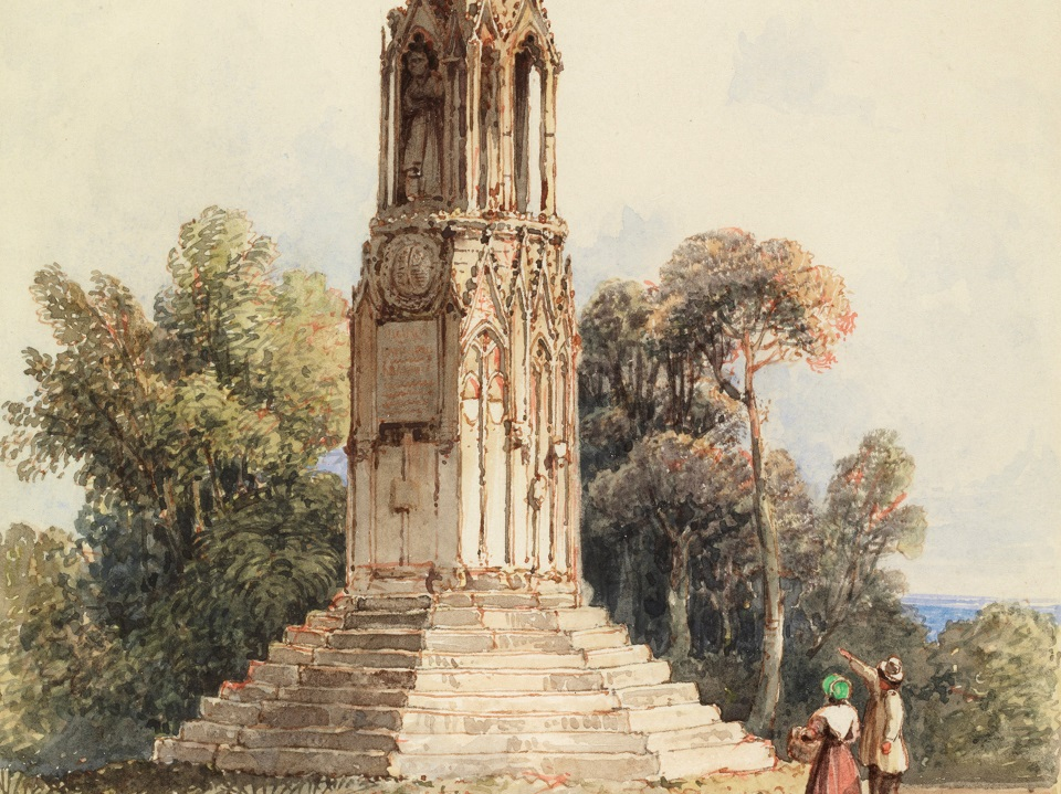 image for Queen's Cross, near Northampton, by G. S. Shepherd