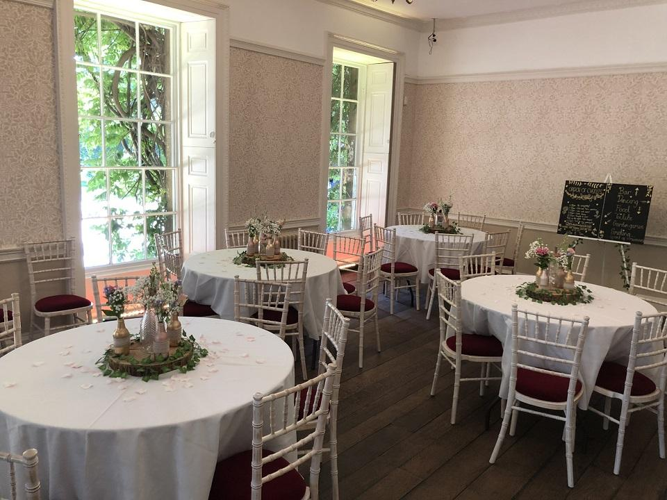 Apm wedding reception image thursby room