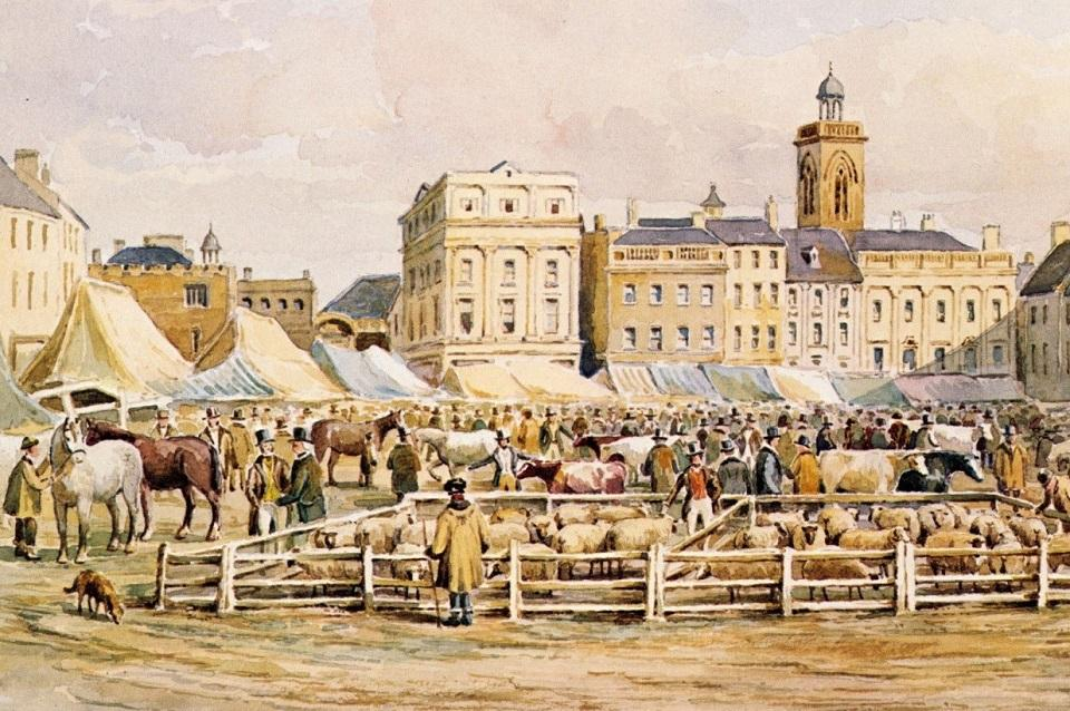 Picture of old Northampton Market