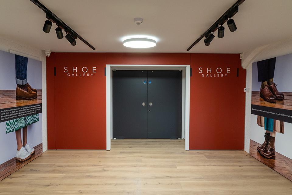 Shoe Gallery entrance