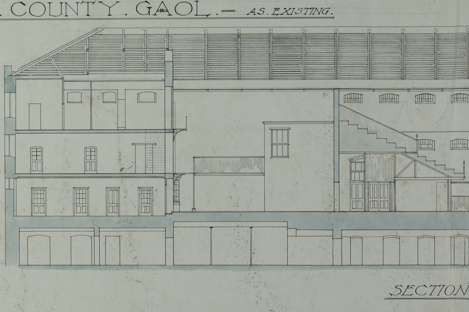 Plan of old County Gaol